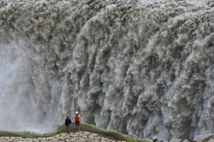 Wasserfall Dettifoss - Mývatn-Region