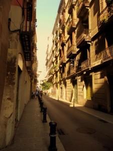 Strasse in Barcelona