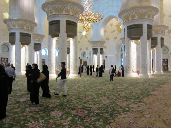 Abu Dhabi  die Hauptstadt der Vereinten Arabischen Emirate