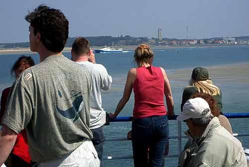 Der Hafen von West-Terschelling kommt in Sicht