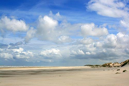 Der endlose Strand von Terschelling