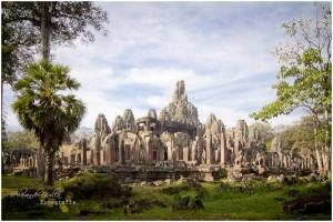 Der Tempel in der Gesamtansicht