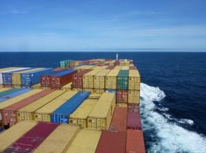 Das Panorama auf der Atlantik-Frachtschiffreise