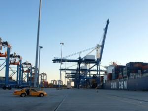 Der Hafen von Charleston
