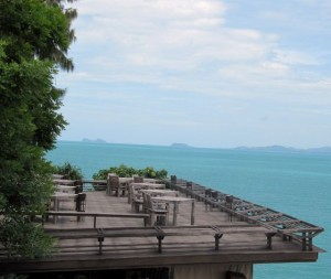 Restaurant im Six Senses Samui