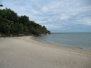 Strand im Kamalaya