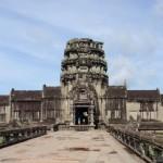 Kambodscha Reisebericht - der berühmte Tempel Angkor Wat