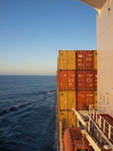 Reisen mit dem Frachtschiff - MSC Ilona