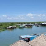 Kambodscha - der Tonle-Sap-See bei Siem Reap