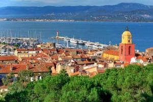 Blick über die Altstadt nach Port Grimaud