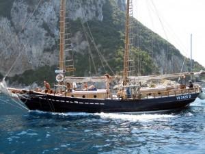 Urlaub auf dem Segelschiff für Singles