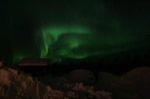 Singleurlaub mit Polarlichter