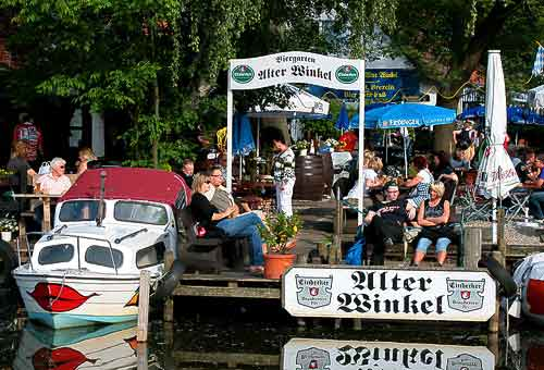 Biergarten Alter Winkel in Steinhude