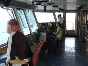 Der beliebteste Aufenthaltsort der Frachtschiffreise