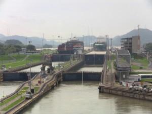 Die Schleusen des Panamakanals