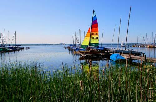 Wassersport-Paradies Steinhuder Meer