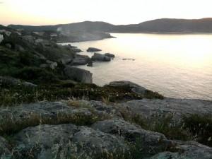 Felsige Küste Balagne