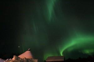 Urlaub mit Polarlichter