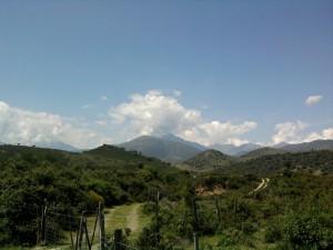 Wilde Berglandschaft Korsika