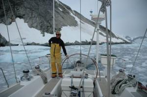 Eine Polar Expedition zu der Antarktis