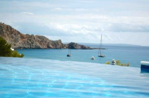 Ferienhaus mit privater Unterwasserdisco