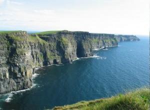Autorundreise durch Irland - Klippen von Moher