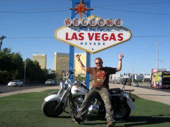 Motorrad Reisen USA Las Vegas