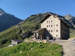 Übernachtung Alpenueberquerung
