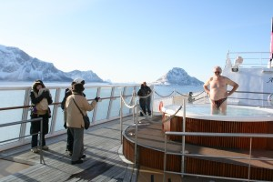 Hurtigruten im Winter