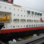 Hurtigruten im Winter  Postschiffreise in Norwegen mit der Familie