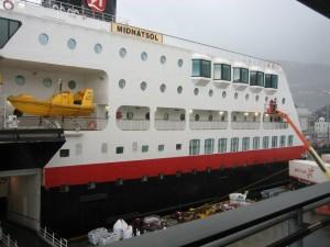 Hurtigruten Schiff MS Midnatsol