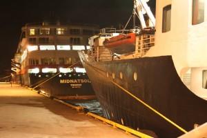 MS Nordstjernen und MS Midnatsol