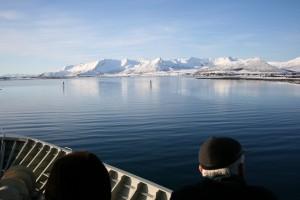 Postschiffreise im Winter