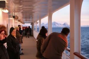 Winterliche Postschiffreise mit den Hurtigruten