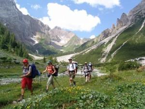 Im Singleurlaub Wandern