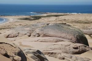 Dünen von Cabo Polonio und Atlantik im Panoramablick