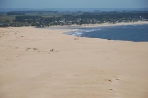 Ausblick auf die Dünen und Valizas