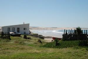 Dünen in Strand in Uruguay