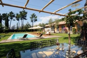 Luxus Ferienhaus bei Lucca in der Toskana