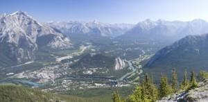 Panorama des Banff National Park