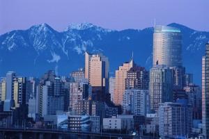 Blick auf Vancouver Kanada