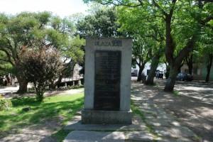 geschichtsträchtiger Platz in Colonia del Sacramento