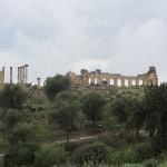 Volubilis, die römische Ruinenstadt gehört zum UNESCO Weltkulturerbe