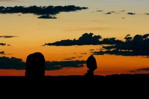 Mietwagenrundreise Kalifornien, Sonnenuntergang am Grand Canyon