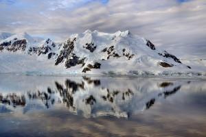 Antarktisreise Spiegelung
