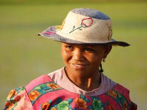 Madagaskar Einheimische