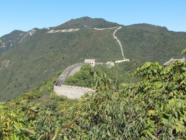 Karte China Mauer.China Urlaubsreise Die Grosse Mauer Mutianyu Und Die Ming Gräber