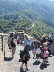 die Ostseite der Mauer