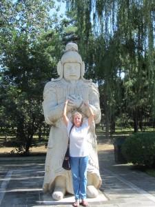 konfuzianischer Beamter aus Stein