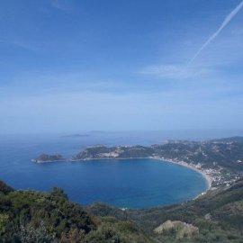 Badebucht auf Korfu